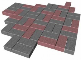 тротуарная плитка, тротуарная плитка из бетона